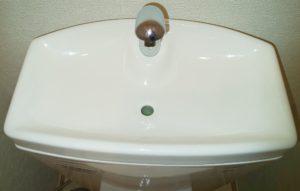 トイレ洗浄後